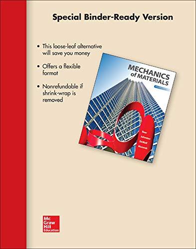 9780077625245: Loose Leaf for Mechanics of Materials