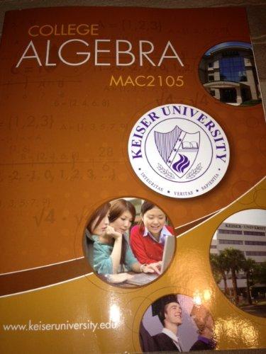 9780077626730: College Algebra Mac2105