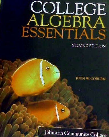 9780077627041: College Algebra Essentials Second Edition
