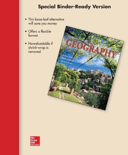 9780077627331: Loose Leaf Version for Introduction to Geography