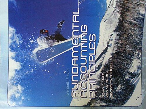 9780077627973: Fundamental Accounting Principles (accounting principles, 20e)