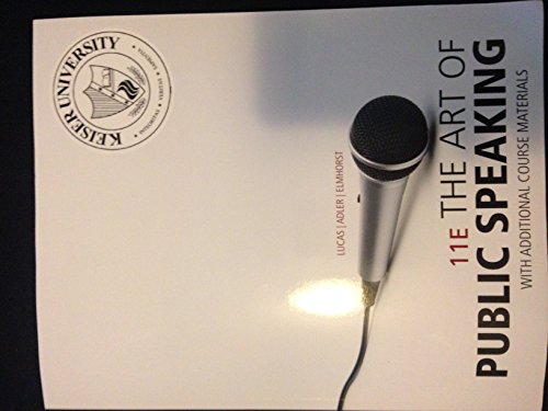 9780077629496: ART OF PUBLIC SPEAKING-TEXT >CUSTOM<