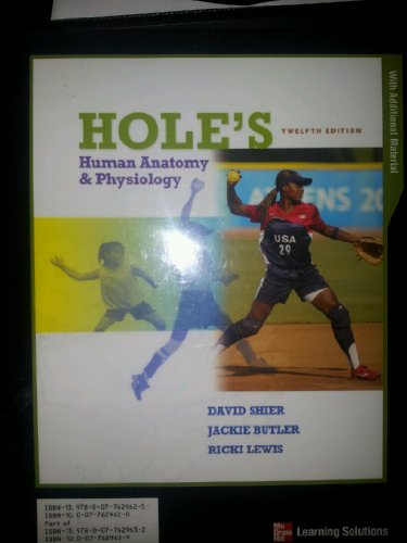 9780077629625: Hole's Human Anatomy & Physiology (Hole's Human Anatomy & Physiology)