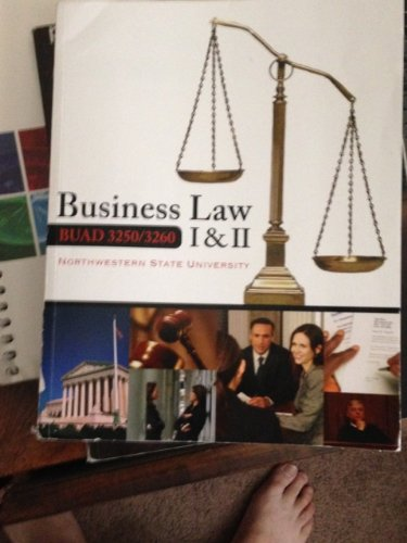 9780077630188: Business Law I and II