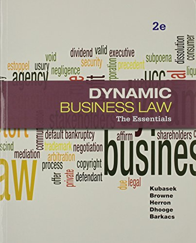 9780077630430: Dynamic Business Law: The Essentials