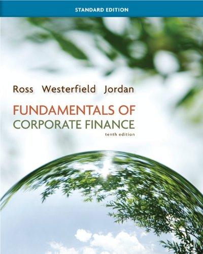 9780077630706: Fundamentals of Corporate Finance: Standard Editioni