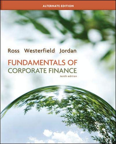 9780077630713: Fundamentals of Corporate Finance Alternate Edition with Connect Plus (Mcgraw-Hill/Irwin Series in Finance, Insurance, and Real Estate)