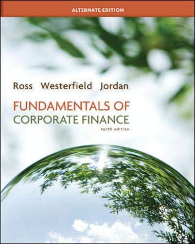 Fundamentals Of Corporate Finance: Stephen Ross