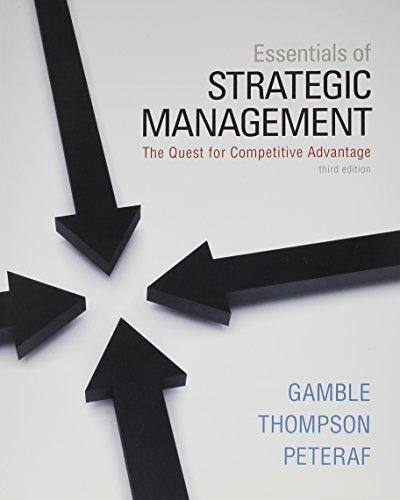 9780077630782: Essentials of Strategic Management with Connect Plus