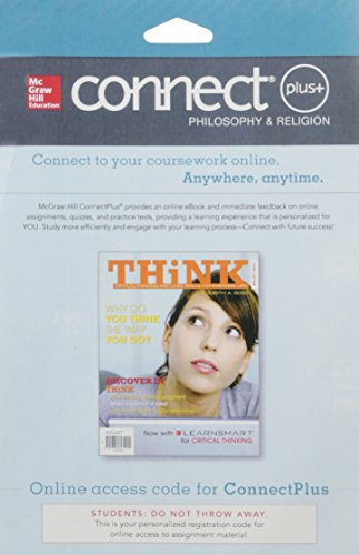 9780077631048: CONNECT PLUS Critical Thinking 1s w/ LearnSmart Access Card for for THiNK