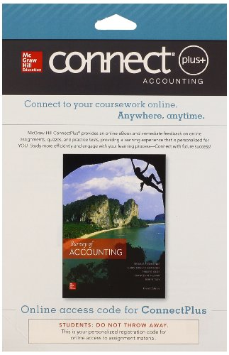 9780077631536: SURVEY OF ACCOUNTING-ACCESS