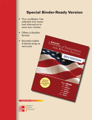 9780077631840: Loose-leaf for McGraw-Hill's Taxation of Individuals and Business Entities, 2014 Edition