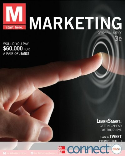 9780077632694: M: Marketing with Connect Plus