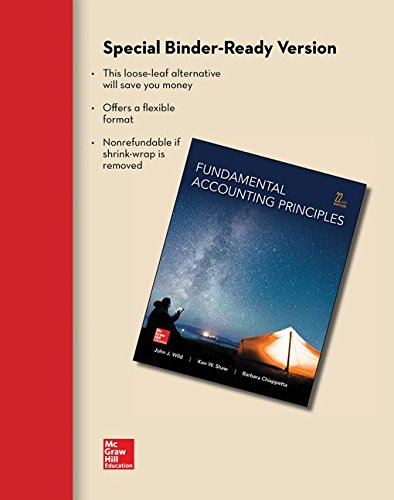 9780077632977: Loose Leaf for Fundamental Accounting Principles
