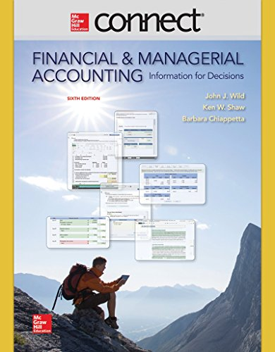 9780077633059: Connect 2 Semester Access Card for Financial and Managerial Accounting