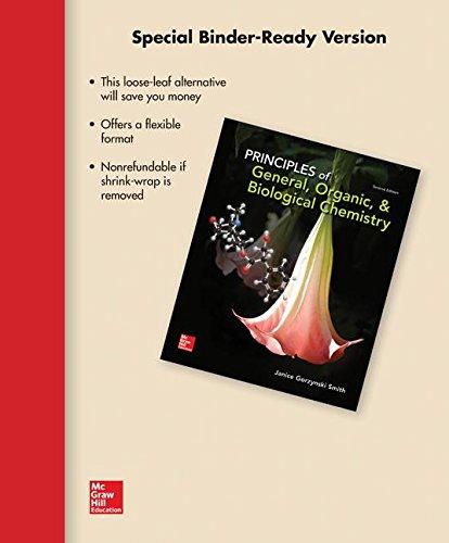 9780077633738: Loose Leaf Version for Principles of General, Organic, & Biochemistry