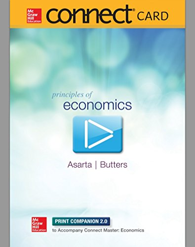 9780077633813: Connect 2 Semester Access Card for Principles of Economics