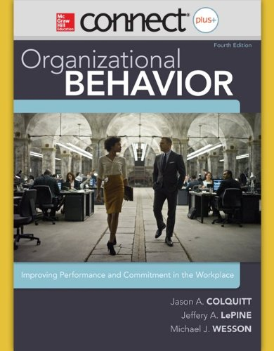 9780077635589: Connect 1-Semester Access Card for Organizational Behavior