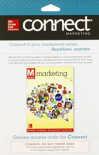 9780077635619: Connect Marketing with LearnSmart 1 Semester Access Card for M: Marketing