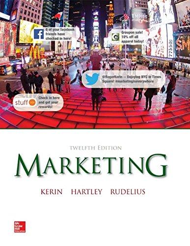 Marketing, 12th Edition [Jan 21, 2014] Roger