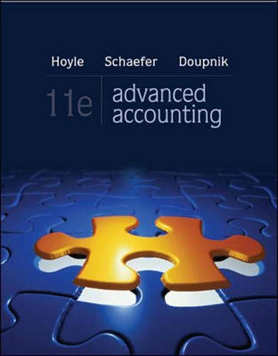 9780077635831: Advanced Accounting with Connect Plus