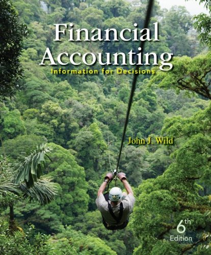 9780077635855: Financial Accounting: Information for Decisions with Connect Plus