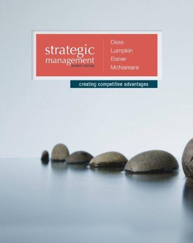 9780077636081: Strategic Management: Creating Competitive Advantages