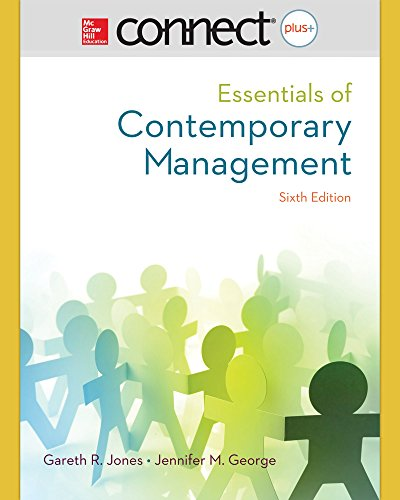 9780077636470: Connect 1-Semester Access Card for Essentials of Contemporary Management