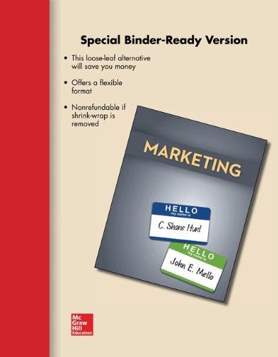 9780077636531: Loose-Leaf for Marketing