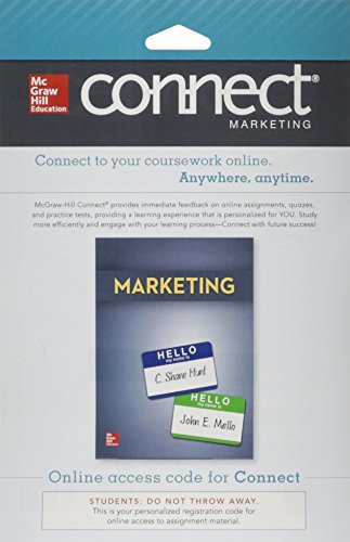 9780077636616: Connect Marketing with LearnSmart 1S Access Card for Marketing