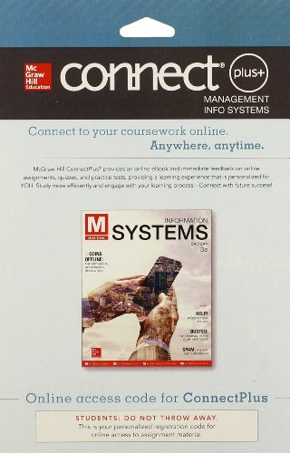 9780077637316: Connect Access Card for M: Information Systems