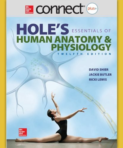9780077637880: Connect Plus Anatomy and Physiology Access Card for  Hole's Essentials of Anatomy & Physiology
