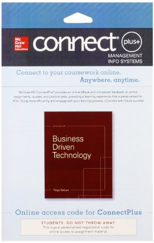 9780077637958: Connect Access Card for Business Driven Technology