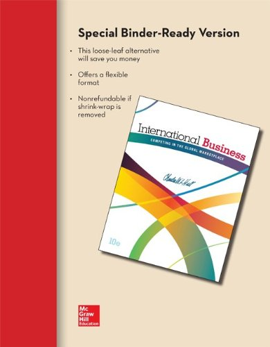 Loose-Leaf for International Business 10e: Charles W. L.