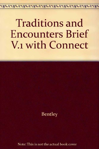 9780077639075: Traditions and Encounters Brief V.1 with Connect