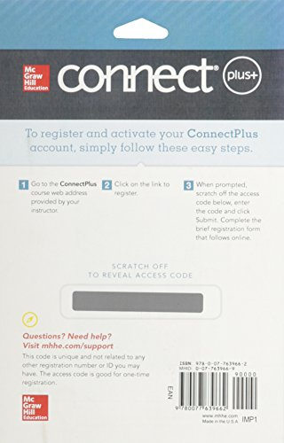 9780077639662: Connect Access Card for Statistical Techniques in Business and Economics