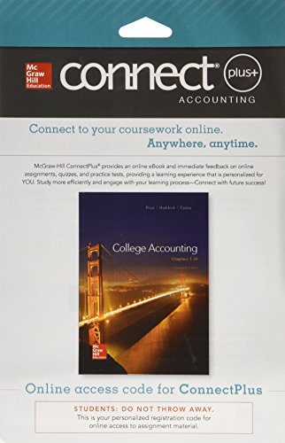 9780077639822: Connect 2-Semester Access Card for College Accounting