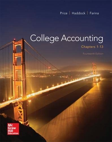 9780077639914: College Accounting (Chapters 1-13)