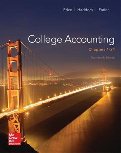 9780077639921: College Accounting (Chapters 1-24) (Irwin Accounting)