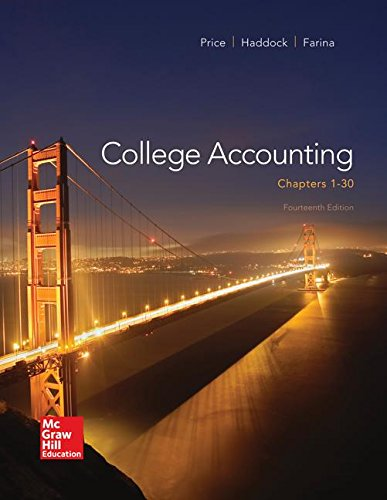 9780077639969: Loose Leaf Version for College Accounting (Chapters 1-30)