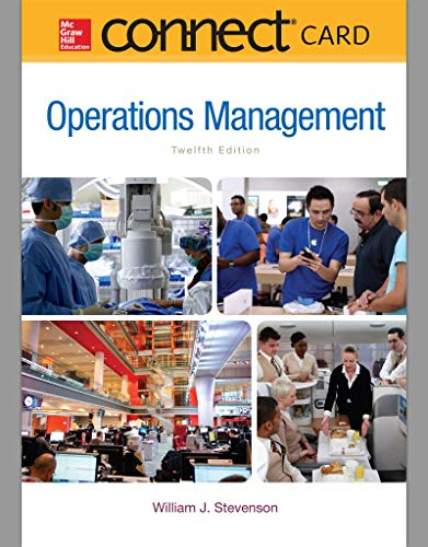 9780077640354: Connect 1-Semester Access Card for Operations Management