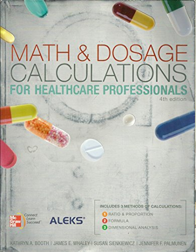 9780077640446: Math & Dosage Calculations for Healthcare Professionals