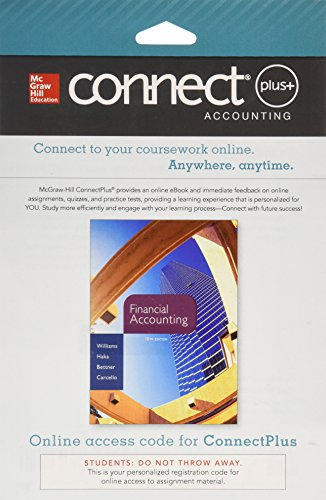 9780077640569: Connect 1-Semester Access Card for Financial Accounting