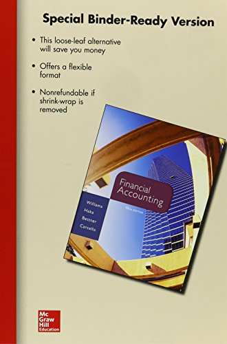 9780077640590: Loose-leaf for Financial Accounting
