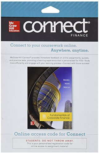 9780077640736: Connect Finance 1 Semester Access Card for Fundamentals of Corporate Finance