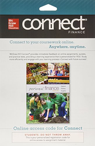 9780077640989: Connect Finance with Learnsmart 1 Semester Access Card for Personal Finance