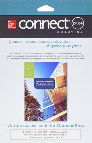 9780077641276: Connect 2-Semester Access Card for Financial and Managerial Accounting