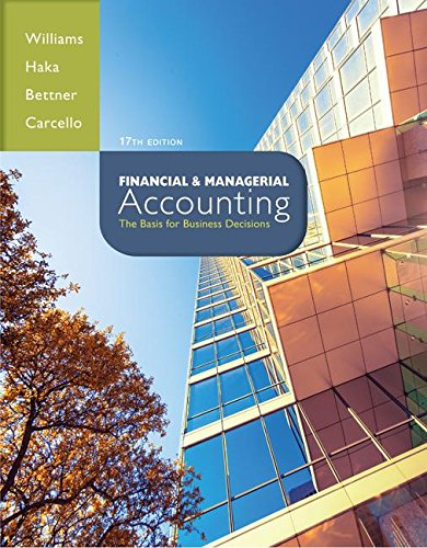 9780077641313: Loose-leaf version Financial and Managerial Accounting