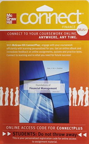 9780077641368: Connect 1-Semester Access Card for Foundations of Financial Management