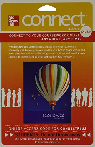 9780077641573: Connect 2-Semester Access Card for Economics